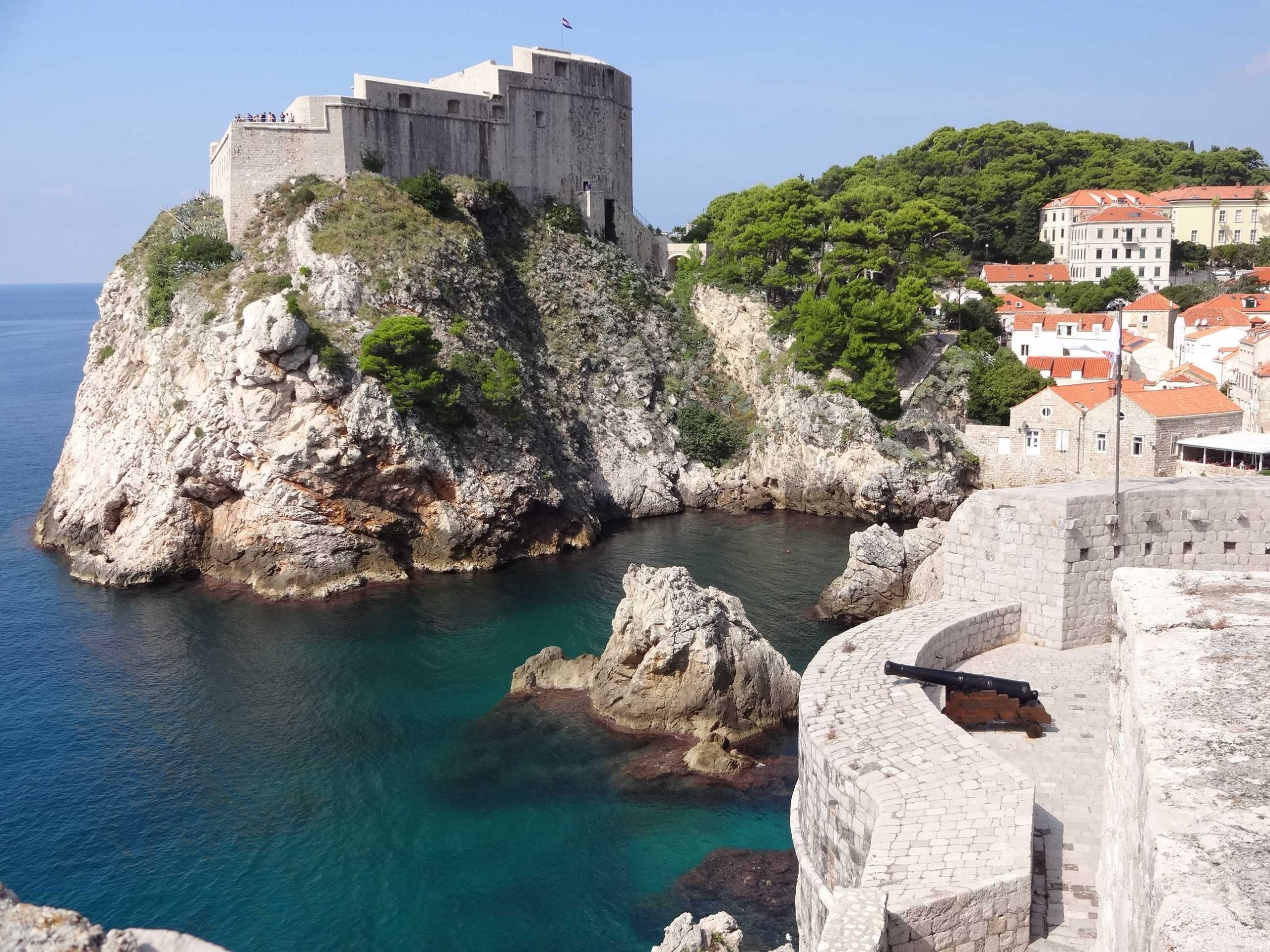 Travel guide to City Walls and Forts in Dubrovnik