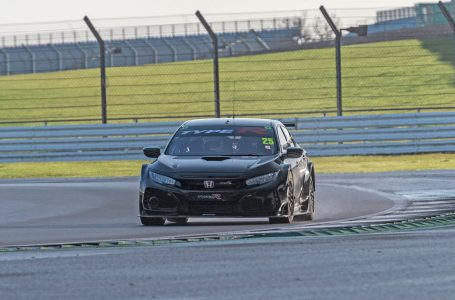 Honda BTCC Racer Driving The Ultimate Civic Type R.