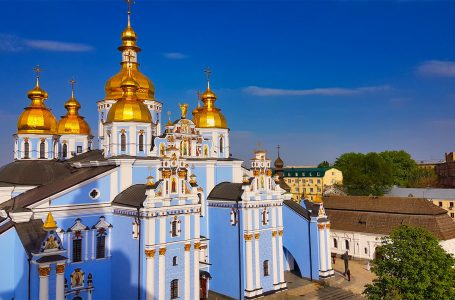 A Beautiful Architecture guide St. Michael's Golden Domed Monastery