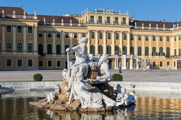 A Lovely Architecture Schonbrunn Palace